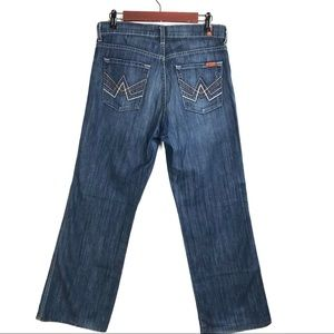 7 fam A'Pocket Relaxed Mens Jeans 29/29 Buttonfly